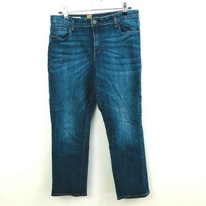 Kut from the Kloth Emma Straight Leg Jeans 14